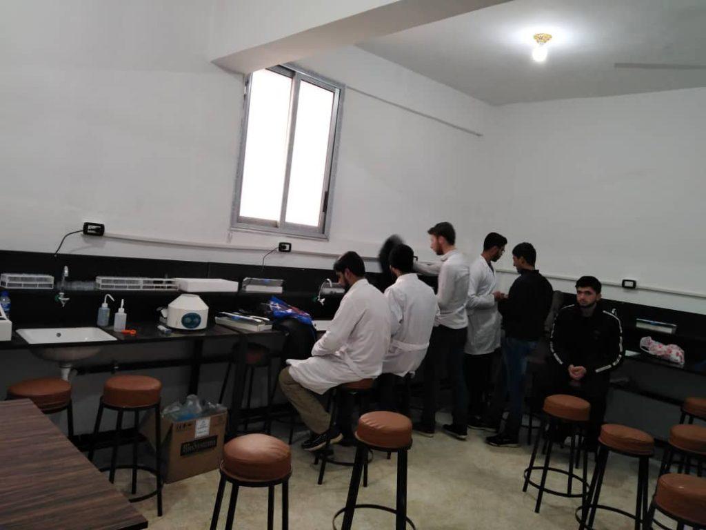 مخبر كلية الطب البشري جامعة حلب الحرة