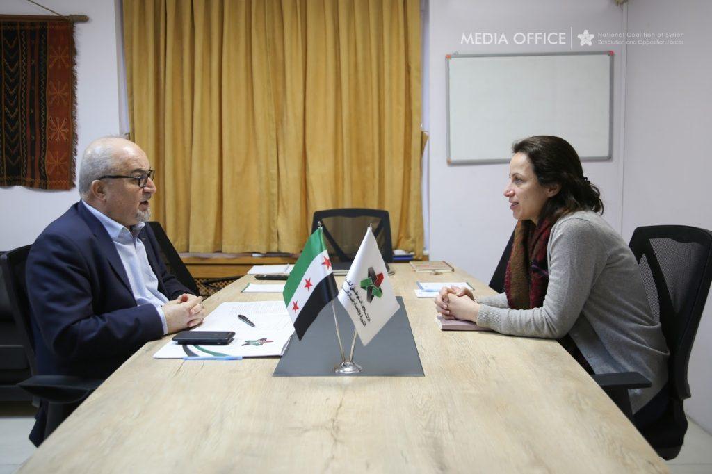 اسطيفو يدعو الدول الصديقة لاتخاذ مواقف أكثر قوة لوقف الكارثة الإنسانية في سورية