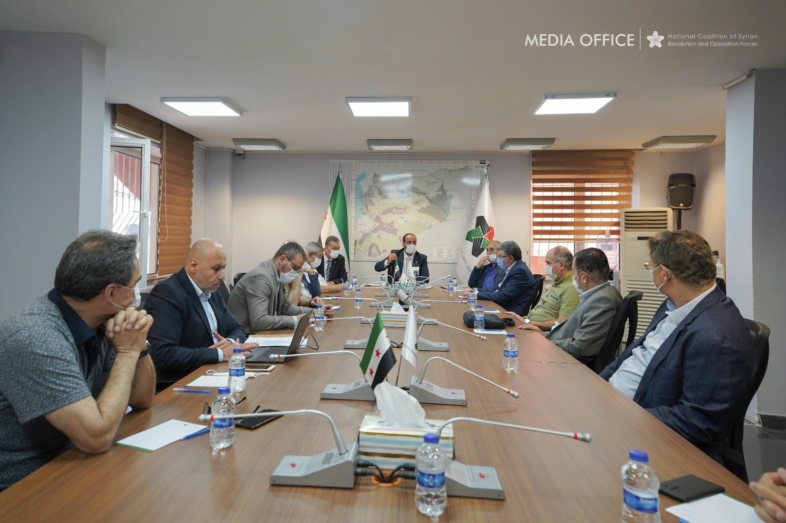 الهيئة السياسية تجري اجتماعاً طارئاً لبحث إجراءات مواجهة جائحة كورونا